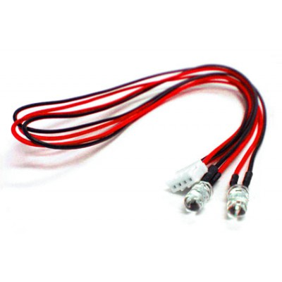 Yeah Racing LED Light - 5mm, Red