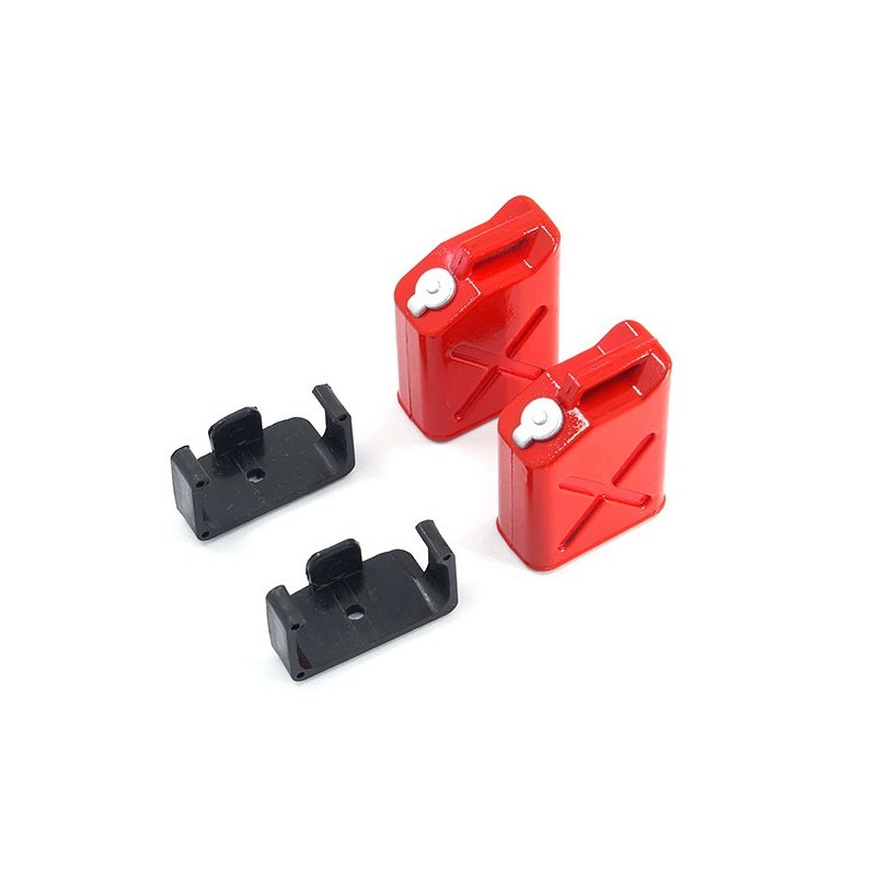Yeah Racing 1/10 RC Rock Crawler Accessory Oil Tank (2 pcs)