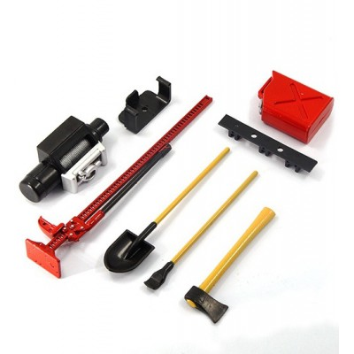 Yeah Racing 1/10 RC Rock Crawler Accessory Tool Set