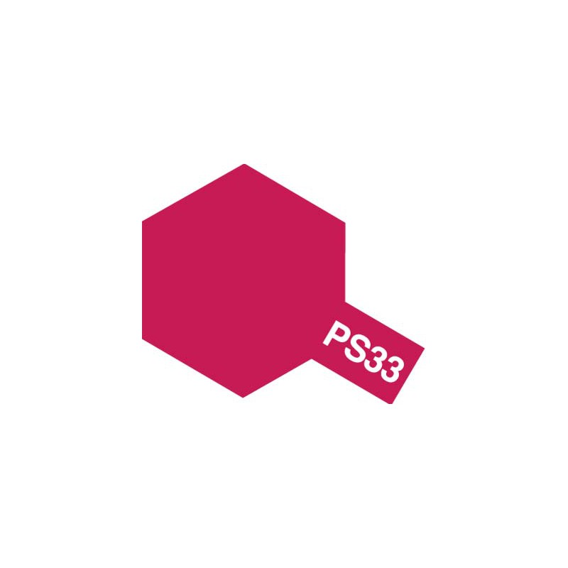 Tamiya Polycarbonate Spray (Cherry Red) - PS-33
