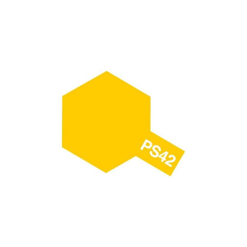 Tamiya Polycarbonate Spray (Translucent Yellow) - PS-42
