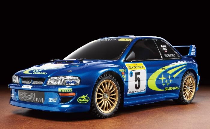 Tamiya 58631 1/10 Subaru Impreza Monte-Carlo '99 (TT-02)