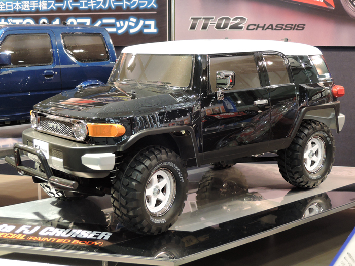 Tamiya 58620 1/10 Toyota FJ Cruiser Black Special painted body (CC-01 chassis)